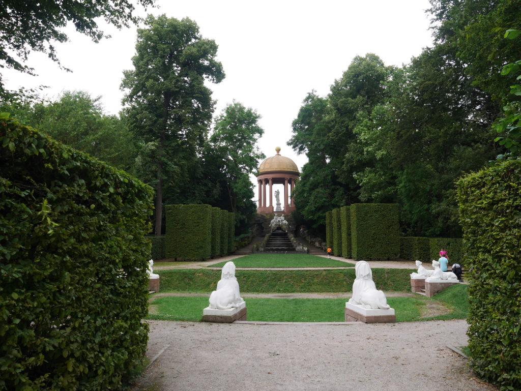 Apollotempel im Naturtheater (Schloss Schwetzingen)