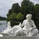 Skulptur Flussgott Rhein in Schwetzingen