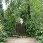 Skulptur des Hirtengotts Pan