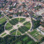 Luftbild Schloss Schwetzingen mit Schlossgarten (von Pixabay)