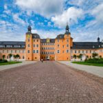 Frontansicht Schloss Schwetzingen - Eingangsbereich