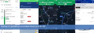 Screenshots Empfang Lycamobile USA