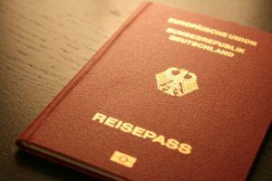 Biometrischer Reisepass Bundesrepublik Deutschland (Bild: Pixabay)
