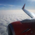 Über den Wolken - Eurowings Flug von Stuttgart nach Wien